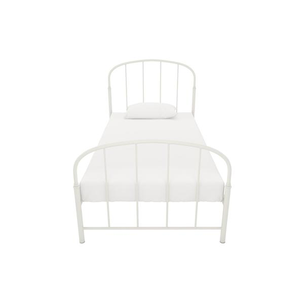 dhp lafayette white metal bed free shipping today