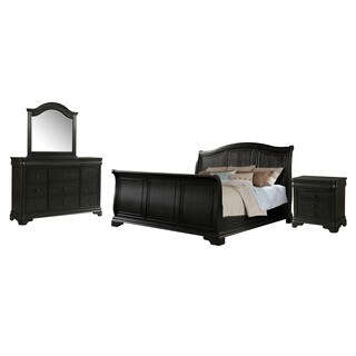 Picket House Furnishings Conley Charcoal Sleigh 4PC Set (2 options available)