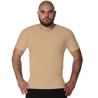 IS Pro Tactical by Insta Slim Men's Concealment Compression V-Neck Shirt (5 options available)