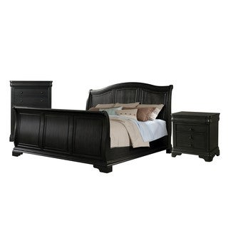 Picket House Furnishings Conley Charcoal Sleigh 3PC Set (2 options available)