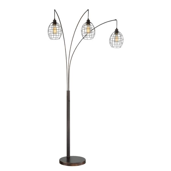Lite Source 3-Light Kaden Arch Lamp