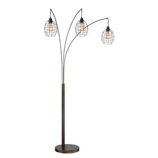 Lite Source 3-Light Kaden Arch Lamp