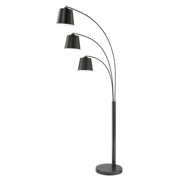 Lite Source 3-Light Quana Floor Lamp