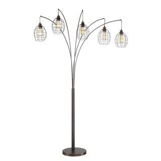 Lite Source 5-Light Kaden Arch Lamp
