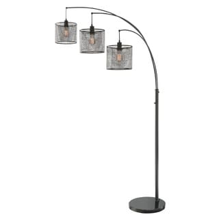 Lite Source 3-Light Hamilton Arch Lamp
