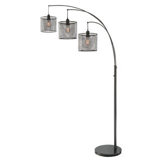 Lite Source 3-Light Hamilton Arch Lamp