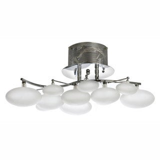 Finesse Lighting Blanc Petit Oeuf Chandelier