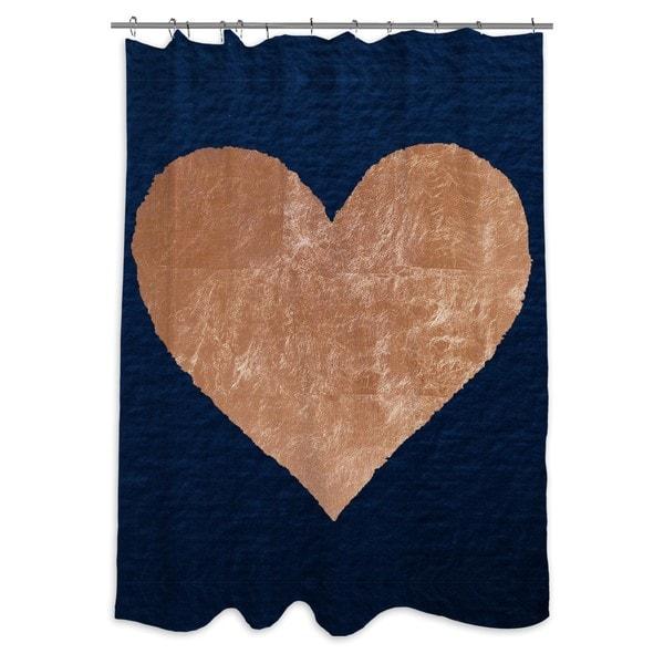 Oliver Gal 'Ever After Rose' Shower Curtain