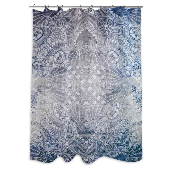 Oliver Gal 'Adamina' Shower Curtain
