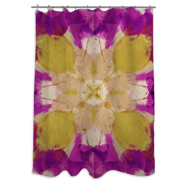 Oliver Gal 'Amantis' Shower Curtain