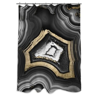Oliver Gal X27AdoreGeox27 Shower Curtain