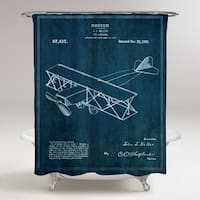Oliver Gal 'Toy Airplane 1921' Shower Curtain