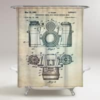 Oliver Gal 'Sauer Camera, 1962' Shower Curtain