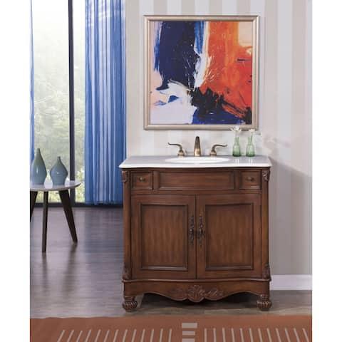 Elegant Lighting Windsor 36-inch Single Bathroom Vanity