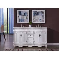 Elegant Lighting Windsor 60-inch Double Bathroom Vanity