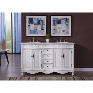 Elegant Lighting Windsor 60-inch Double Bathroom Vanity