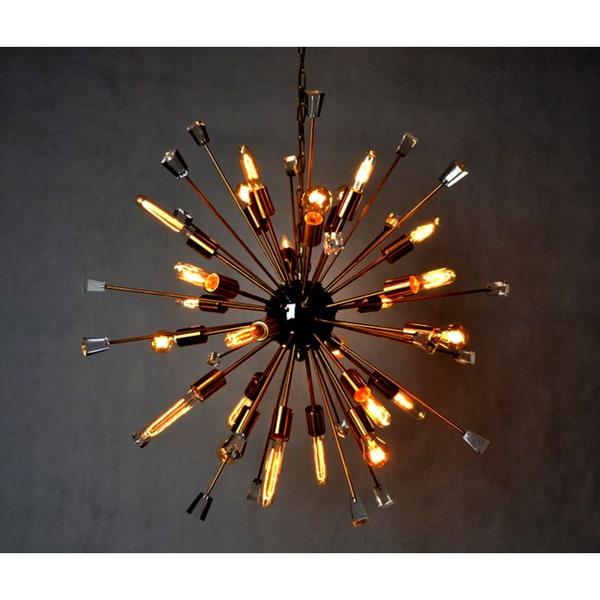Y Decor 24 Light Chandelier In Gold Finish