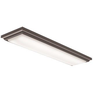 Lithonia Lighting FMFL 30840 VANL BZ Vanderlyn 4 ft. LED Flushmount 4000K