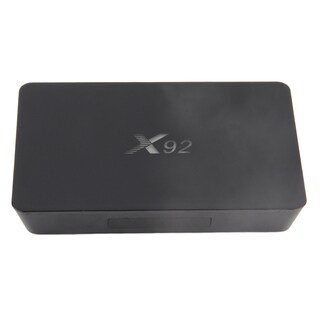 16GB S912 TV Box X92 Fully Loaded Free Keyboard For Android 6.0 Black