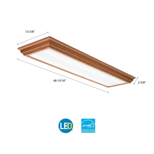 Lithonia Lighting FMFL 30840 CAML OA Cambridge 4 ft. Oak LED Flushmount 4000K d8b2843a e343 4375 b0cc 95c928766685_600 diagrams 7911024 lithonia dsx led installation and wiring  at readyjetset.co
