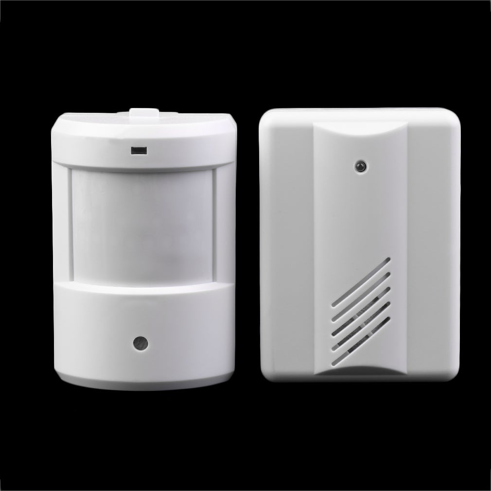 Driveway Patrol Garage Infrared Wireless Doorbell Alarm S...