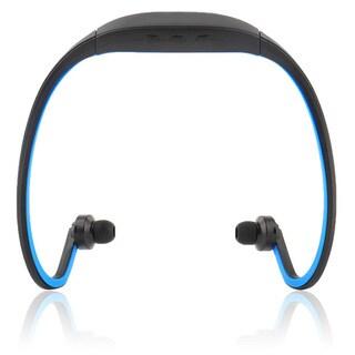 Wireless Bluetooth Headset Headphone (Blue)