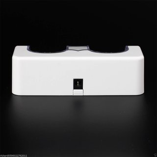 Dual Charger Station 2x 2800mAh for Wii Remote Control