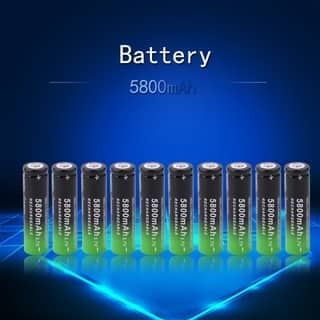 5800mAh 3.7v Li-ion Rechargeable 18650 Battery (Box of 10)|https://ak1.ostkcdn.com/images/products/15640462/P22071152.jpg?impolicy=medium