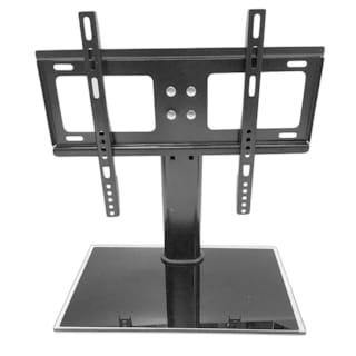 adjustable tv stand with pedestal base wall mount