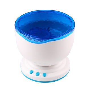 LED Night Light Projector Ocean Lamp With Speaker