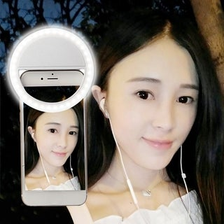 Rechargeable Selfie Light LED Ring for Smartphone