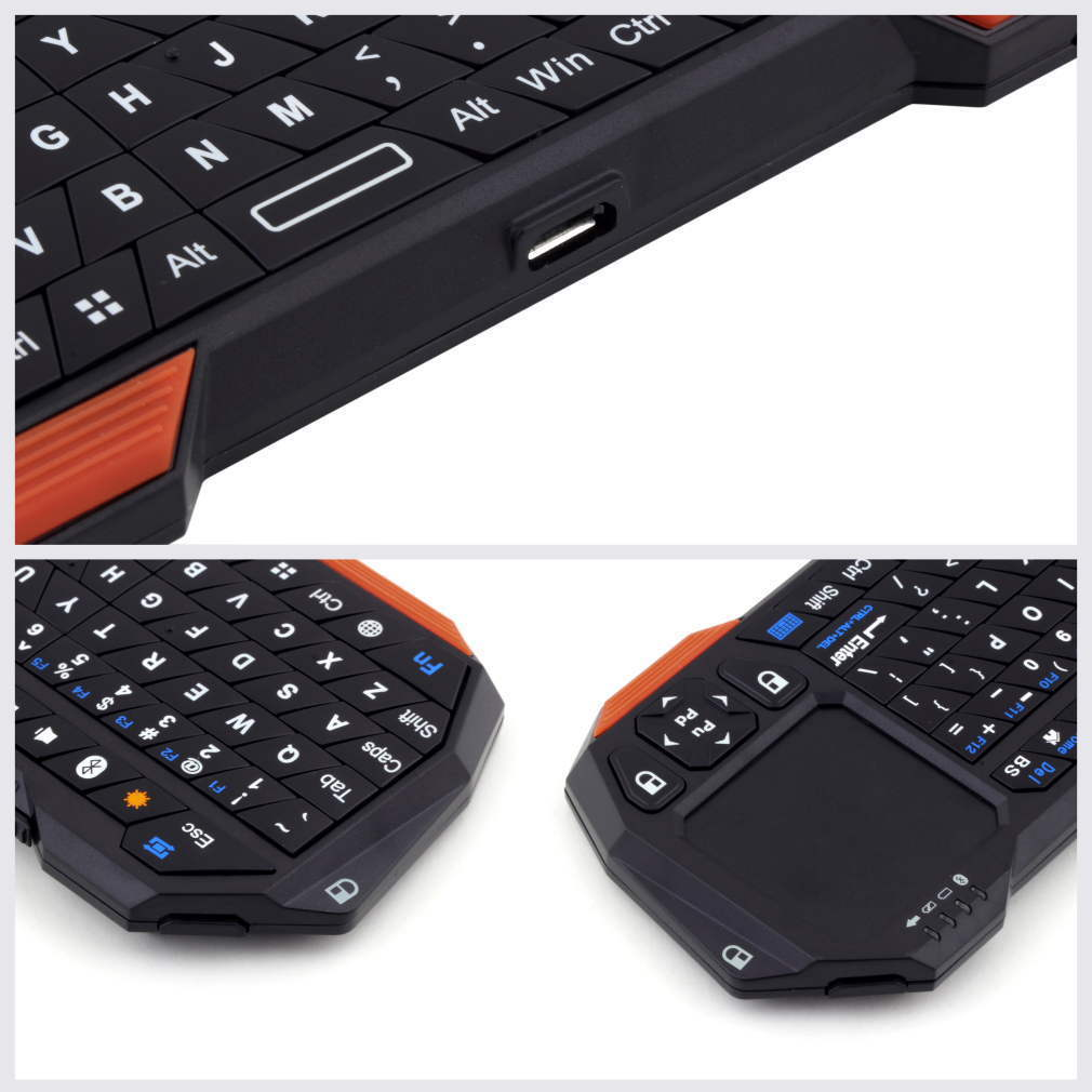 Mini Wireless Bluetooth 3.0 Keyboard and Mouse (Mouse) #C...