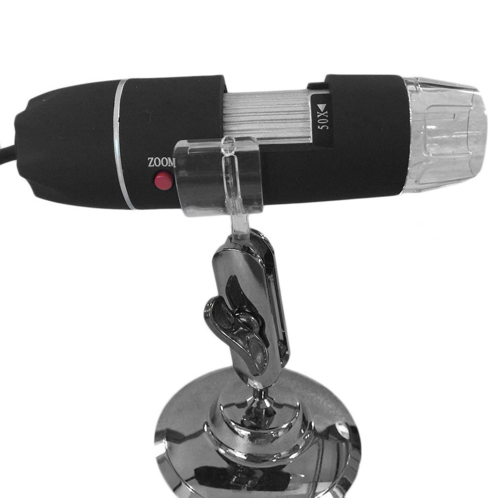 50-500X 2MP USB 8 LED Light Digital Microscope Endoscope ...
