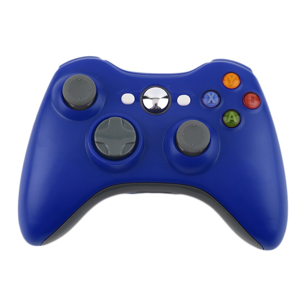 Wireless Bluetooth Game Controller for Xbox 360 (Blue) (C...