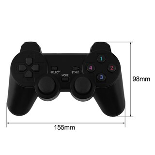 2.4G USB Wireless Dual Vibration Gamepad Controller For PC Laptop (Box of 2)