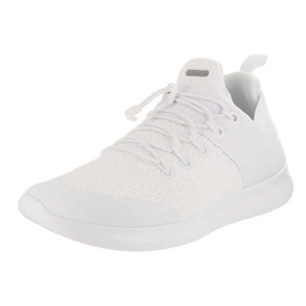 reputable site d55ee c78c8 Nike Womenx27s Free Rn Cmtr 2017 White Textile Running Shoes