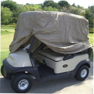 Waterproof 2 Passengers Golf Cart Cover