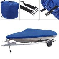 Boat Cover 600D V-Hull (Blue)