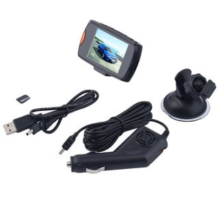 2.7-inch Full HD 1080P Dash Camera G-sensor Night Vision