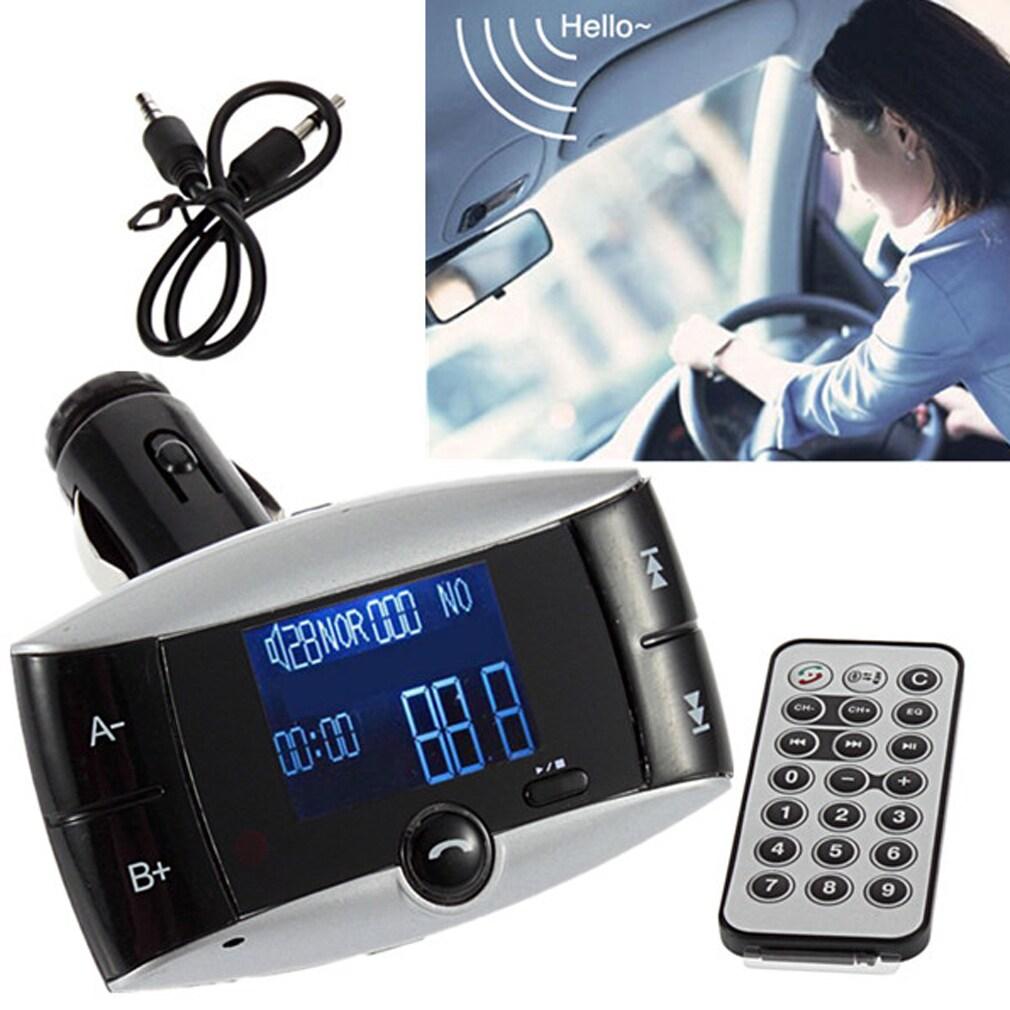 Echo Bluetooth Car Kit MP3 Player FM Transmitter Hands Fr...