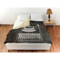 Oliver Gal 'Brandt, Type Bak Guide For Typewriters, 1926' Duvet Cover