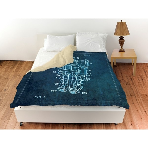 Oliver Gal 'Reconfigurable Toy, 1985' Duvet Cover