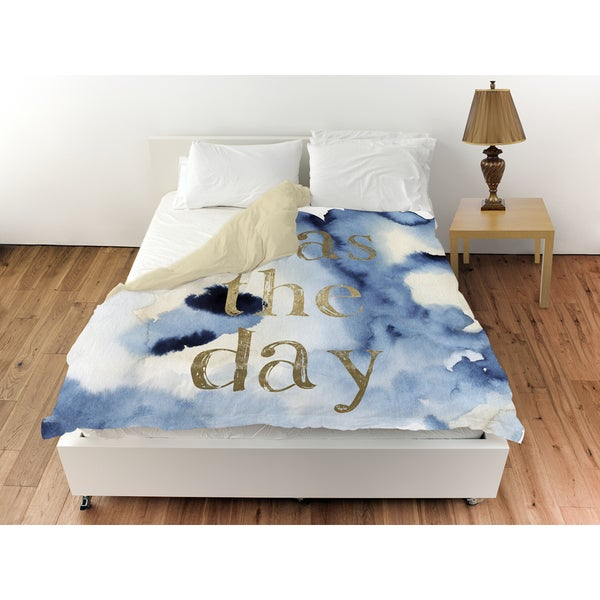 Oliver Gal 'Seas The Day' Duvet Cover