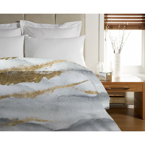 Oliver Gal 'Tibet Mountains' Duvet Cover