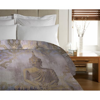 Oliver Gal 'Buddha In Peace' Duvet Cover
