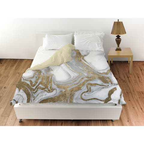 Oliver Gal 'Black Tie Nights' Duvet Cover