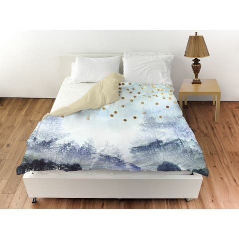 Oliver Gal 'Summer Mist Collage' Duvet Cover