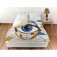 Oliver Gal 'Contemplate' Duvet Cover