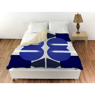 Oliver Gal 'Geometry Studies III' Duvet Cover
