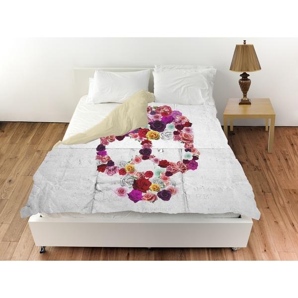 Oliver Gal 'Bed of Roses' Duvet Cover